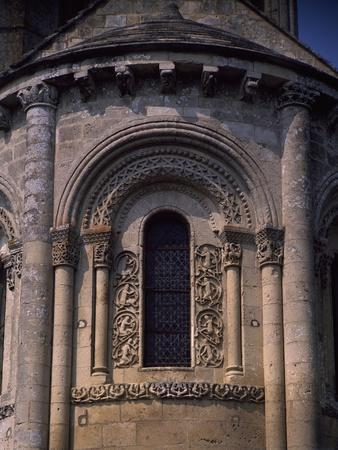 France, Aulnay De Saintonge, Church of Saint-Pierre De La Tour, Detail from Apse