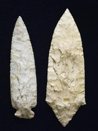 Polished Flint Daggers, Copper Age, Umbria, Italy