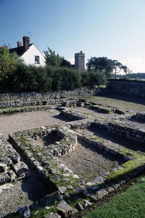 Roman Ruins at Caerwent, Wales, United Kingdom