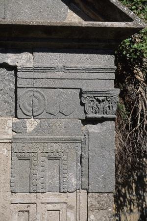 Roman Tomb Near Walls of Volsinii, Bolsena, Lazio, Italy