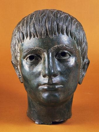 Head of Young Man, Dating Back to Roman Republic, 4th-3rd Century BC