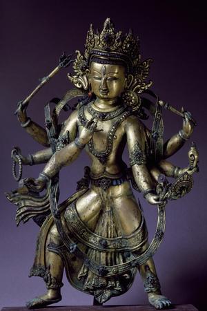 Avalokitesvara, Bodhisattva of Great Compassion, Bronze Statue
