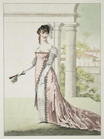 Gala Dress of a Milanese Woman, 1807