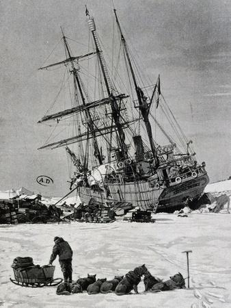 Unloading Material from Stella Polare, Arctic, 1899