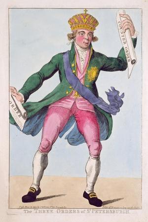 The Three Orders of St. Petersburgh, 1800
