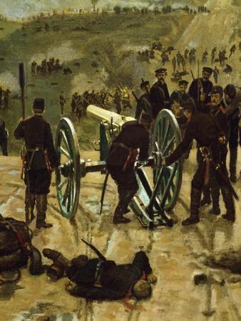 Third Battle of Pleven, 1877, Detail, Russo-Turkish War, Bulgaria