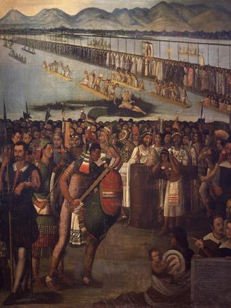 Procession of Virgin of Guadalupe, Unknown 17th Century Artist, Mexico