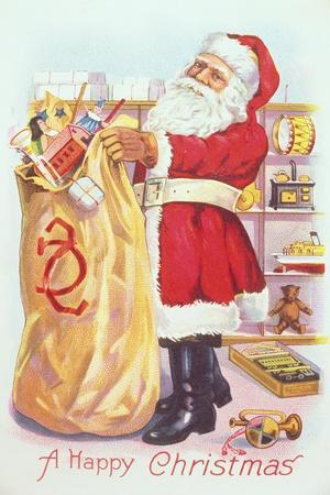 Santa and the Sack of Toys