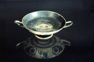 Attic Kylix, Black-Figure Pottery, Greece