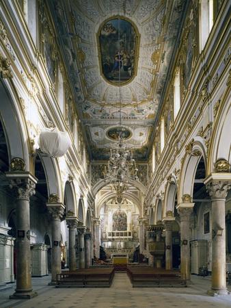 Cathedral of Matera, Interior, Basilicata, Italy