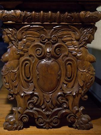 Table with Carved Pedestal Legs, Italy, 16th-17th Century