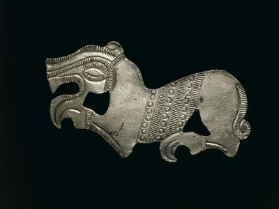 Romania, Craiova, Zoomorphic Thraco-Getian Applique from Iron Age