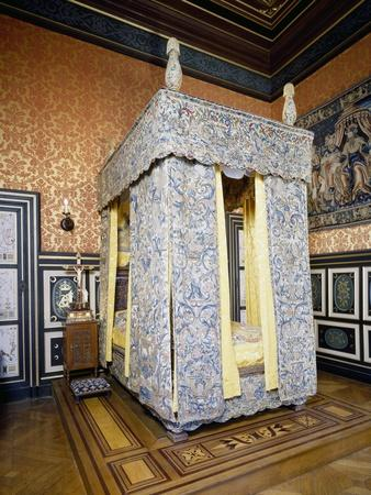 France, Chateau D'Anet, Diane De Poitiers' Bedchamber, 16th Century