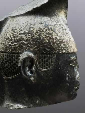 Head of Pharaoh Taharqa