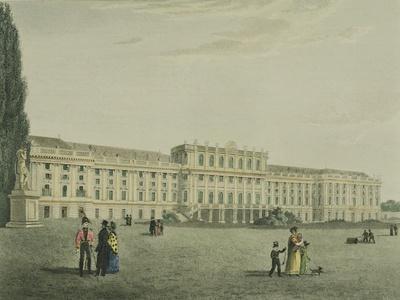 Schoenbrunn Imperial Palace in Vienna, Austria
