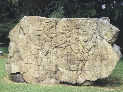 Stele Note as Maize Stele, Artifact Originating from Mexico