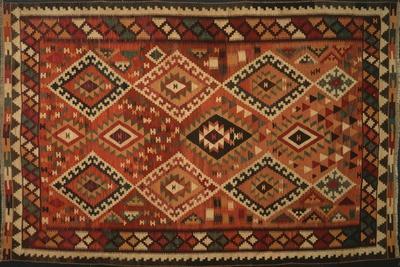 Rugs and Carpets: Iran - Kilim Qashqai Carpet