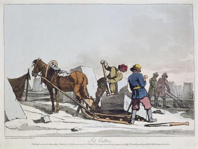 Ice Cutters, Russia 19th Century