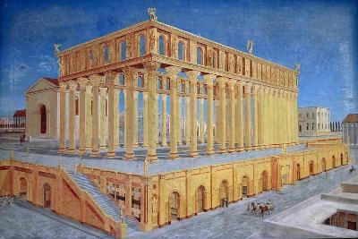 Reconstruction of Roman Basilica of the 1st Century B.C.