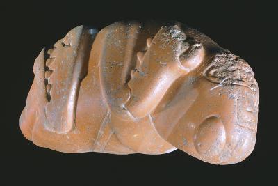 Stone Sculpture Originating from Mexico Depicting a Locust. Aztec Civilization, 14th-16th Century