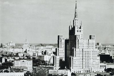 Ukraine Hotel, in Neo-Gothic Stalin-Era Style, 1950s, Moscow Russia