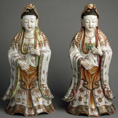 Kwannon Statues, China, Qing Dynasty