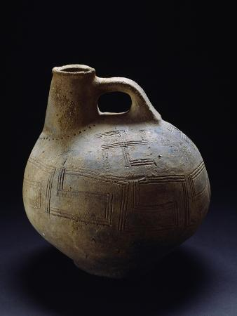 Vase from Necropolis of Torre Galli, Drapia, Calabria, Italy, Bronze Age