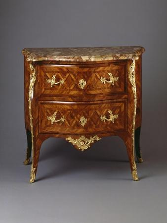 Louis XV Style Chest of Drawers, France
