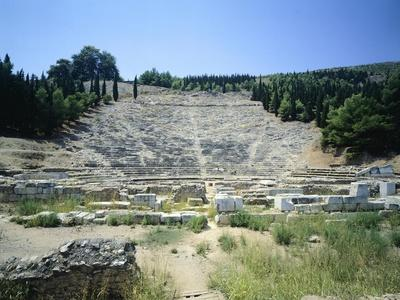 Theatre on Larissa Hill, Argos, Greece, 3rd Century BC