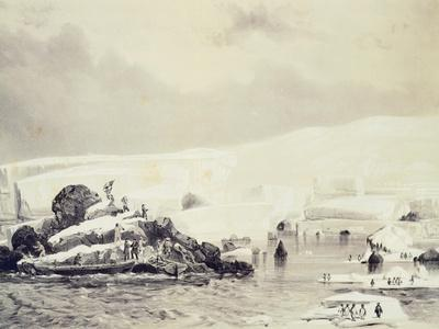 D'Urville Takes Possession of Adelie Land, January 31, 1840
