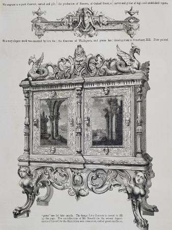Cabinet for Countess of Waldegrave from Art Journal Catalogue, United Kingdom