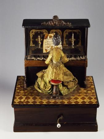 Pianist, Music Box, 1850-1900