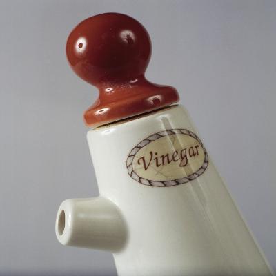 Vinegar Cruet, Ceramic