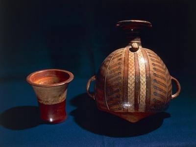 Terracotta Aryballos, Inca Civilization, Peru