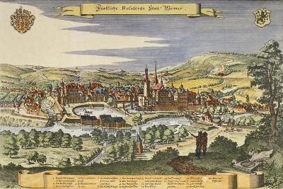 View of Weimar, Germany Print
