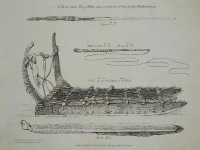 Dog Sleds, Arctic 19th Century