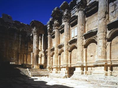 Lebanon, Heliopolis, T Temple of Bacchus