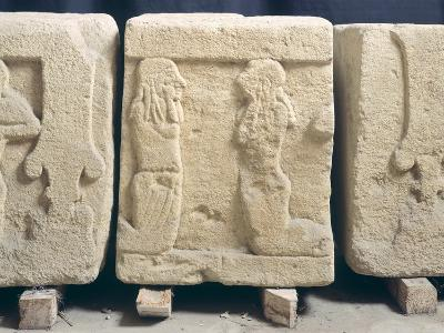 Stone Slabs with Reliefs. Etruscan Civilization, 9th-1st Century BC