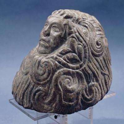 Andesite Statue from Mexico, Depicting the God Quetzalcoatl
