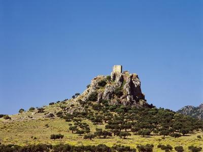 Spain, Extremadura, Almorchon, Castle