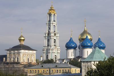 Russia, Sergiev Posad, Monastery of Holy Trinity of St Sergius
