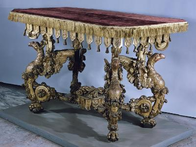 Carved and Gilt Table, Circa 1700, Germany
