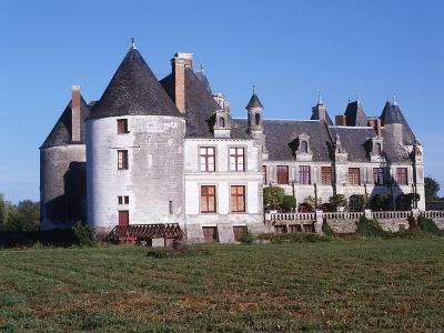 France, Centre, Indre-Et-Loire, Sonzay, La Motte Castle