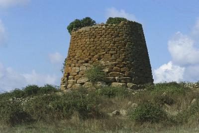 Italy, Sardinia, Macomer, Province of Nuoro, Nuraghe Succuronis or Bara