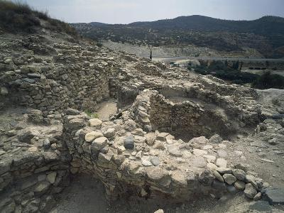 Cyprus, Larnaca District, Archaeological Site of Khirokitia, Remains of Neolithic Settlement
