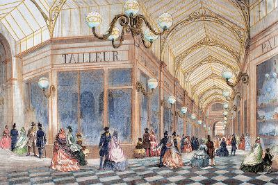 France, Paris, 19th Century, Passage Mires