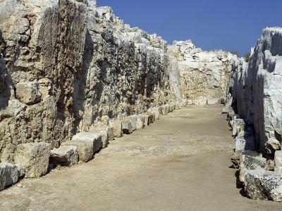 Ruins of Euryalus Castle, Syracuse, Sicily, Italy, 5th-4th Century BC