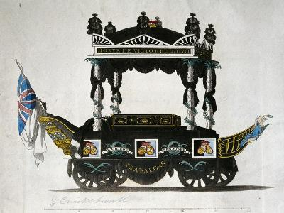 Hearse Carrying Horatio Nelson's Remains, Napoleonic Wars, England