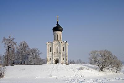 Russia, Golden Ring, Bogolyubovo, Church of Intercession on Nerl