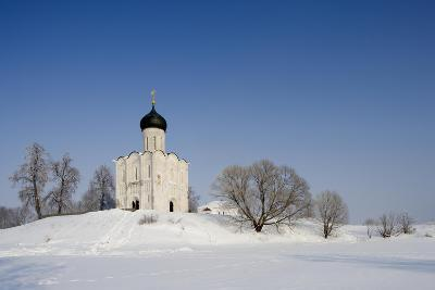 Russia, Golden Ring, Bogolyubovo, Church of Intercession on Nerl